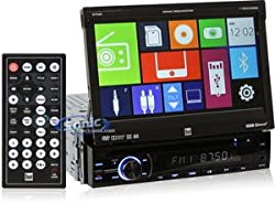 See Dual DV704BI 7-Inch Multimedia Receiver with Bluetooth Details