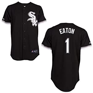 Adam Eaton Chicago White Sox Alternate Black Replica Jersey by Majestic by Majestic