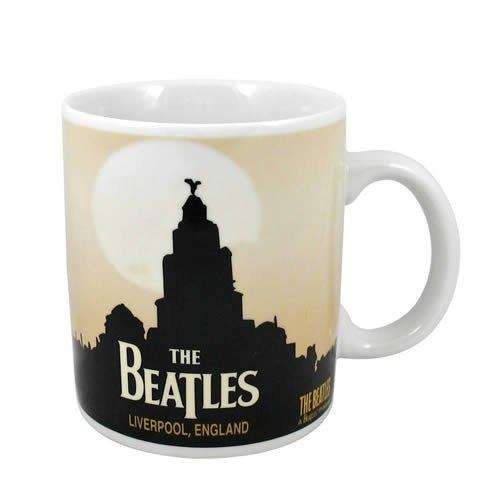 The Beatles Liverpool England Official Mug