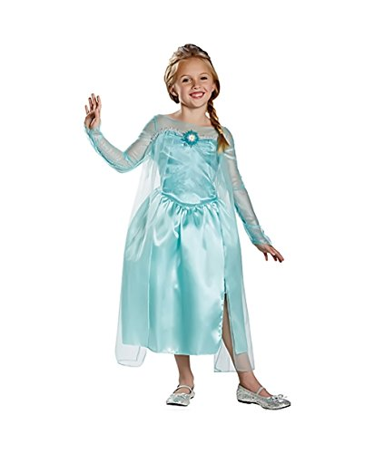 Shindigz Holiday Halloween Party Fashion Apparel Frozen Elsa Snow Queen Costume 4-6