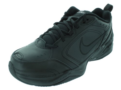 Nike Air Monarch IV(4E) Men's Training Shoe (11.5 4E(M) US, Black/Black)