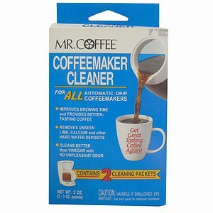 Mr. Coffee Coffeemaker Cleaner: 2 Packets