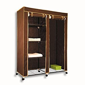 xl kleiderschrank campingschrank doppel faltschrank. Black Bedroom Furniture Sets. Home Design Ideas