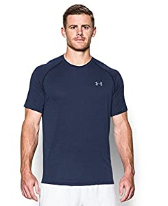 Under Armour Men's UA Tech Short Sleeve T-Shirt X-Small Midnight Navy