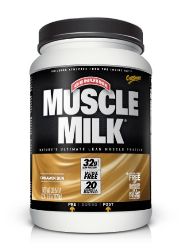 Christmas CytoSport Muscle Milk, Cinnamon Bun, 2.47 Pound Deals