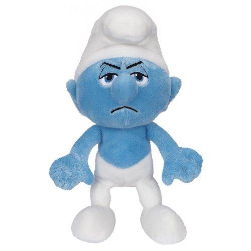 Smurfs Grouchy Bean Bag Plush - 1
