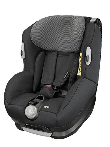 Bébé Confort Opal - Silla de coche, grupo 0+/1, color negro