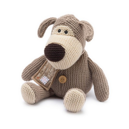 Intelex Boofle? Microwave Heatable Plush Warm Wheat Bag Soft Toy Cuddle Dog