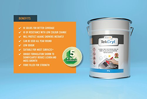 20kg-tekcryl-acrylic-instant-roof-repair-fast-fix-evercryl-cromapol-5yr-guarantee-grey