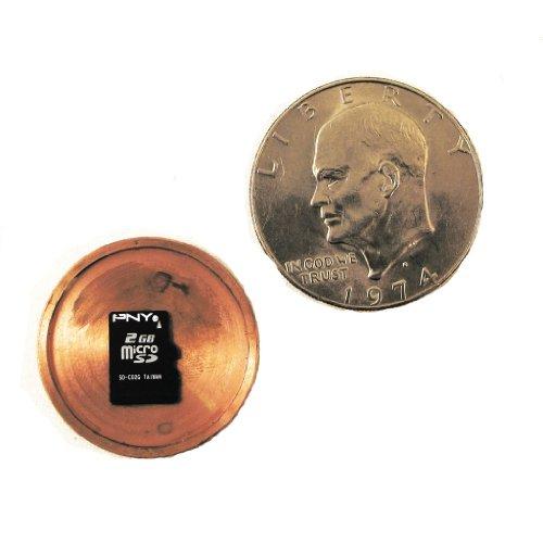 Micro Sd Card Covert Spy Coin Secret Compartment - Us Dollar