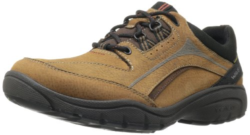 Clarks Men's Wave.Venture Oxford,Tan Nubuck,9.5 M US