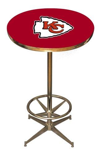 Nfl Kansas City Chiefs Pub Table front-629076
