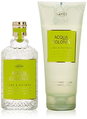 4711 Acqua Colonia Lime & Nutmeg Set Regalo - 370 ml