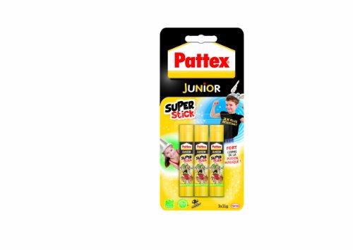 pattex-junior-super-stick-tube-de-colle-transparent-super-stick-11g-lot-de-3