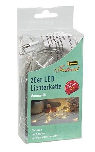 Idena-LED-Lichterkette-20-er-mit-Schalter-fr-Innen-Lnge-340-m-warmwei-31117