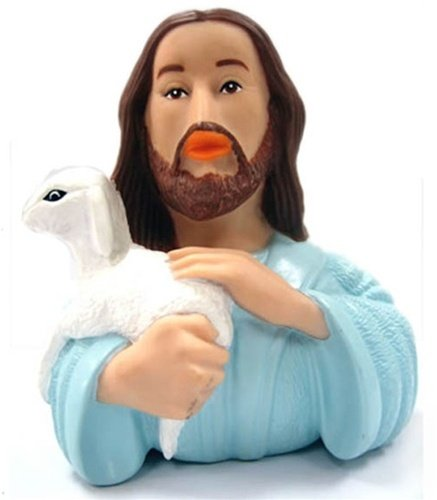 CelebriDucks Jesus of Nazareth RUBBER DUCK Bath Toy - 1
