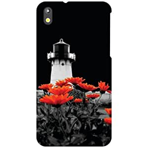 HTC Desire 816 Tall Tower Matte Finish Phone Cover