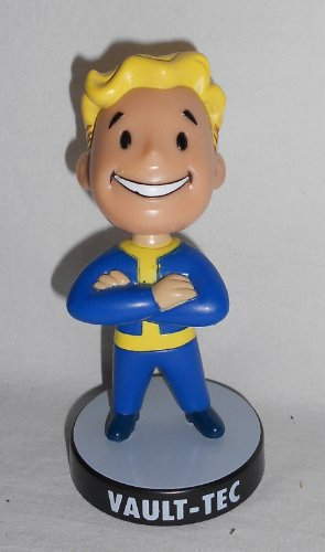 Fallout 3: Vault Tec Pip Boy Bobble Head Figure Toy