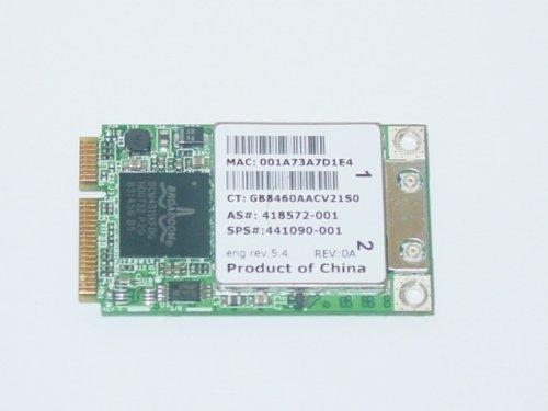 Broadcom Wireless Mini Pci Express Card 802.11B/G Hs Bcm94311Mcg