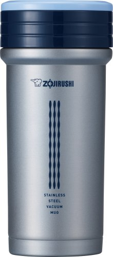 Zojirushi SM-CTE35AZ Stainless Mug with Tea Strainer 11 ounce Blue