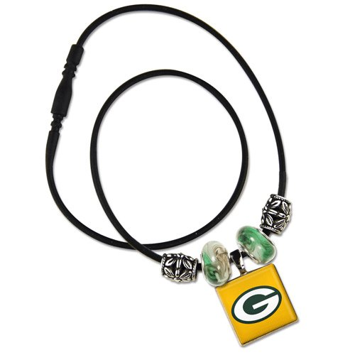 NFL Lifetile Necklace with Beads from Wincraft