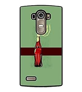 PrintDhaba Bottle D-4170 Back Case Cover for LG G4 (Multi-Coloured)