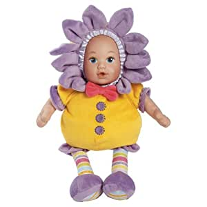 "Adora Snuggletime Blooms 13"" Plush Doll, Yellow"