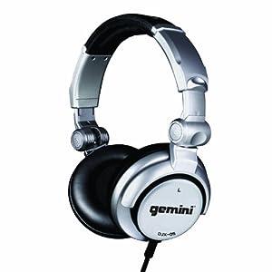 Gemini DJX-05 Professional DJ-Kopfhörer (102dB, 3,5mm Klinkenstecker, 4m)
