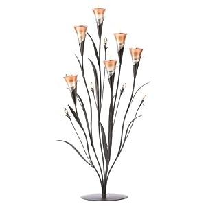 Gifts & Decor Wedding Centerpiece Dawn Flower Candleholder Home Decor