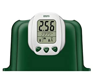 Springfield 91915 Wireless Rain Gauge with Outdoor Thermometer