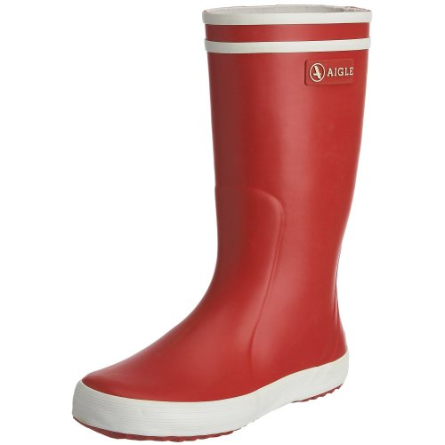 Aigle Lolly Pop Rouge Wellingtons Boot 84558 5 UK Youth, 38 EU