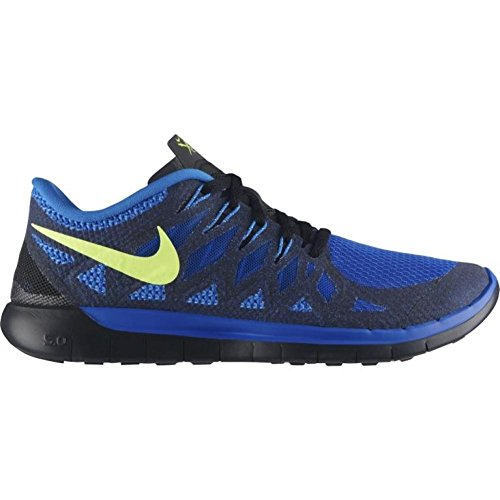 Nike Free 5.0 2014 Mens Running Shoes - Hyper Cobalt/Volt/Photo Blue/Black/Electric Green (15)