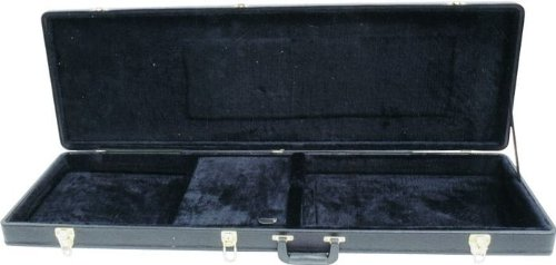 Musicians Gear Deluxe Bass Case, Black