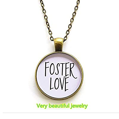 Foster Love Necklace, Foster Care, Adoption Jewelry, Adoption Mom, Mother's Day Gift, Mom Necklace, Chosen, Love Makes a Family