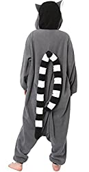 DELEY Unisex Adult Animal Sleepwear Warm Onesies Pajamas Cosplay Homewear Anime Costume