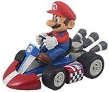 BG Games Mario Kart RC - Mario, 130 mm, Azul, Rojo
