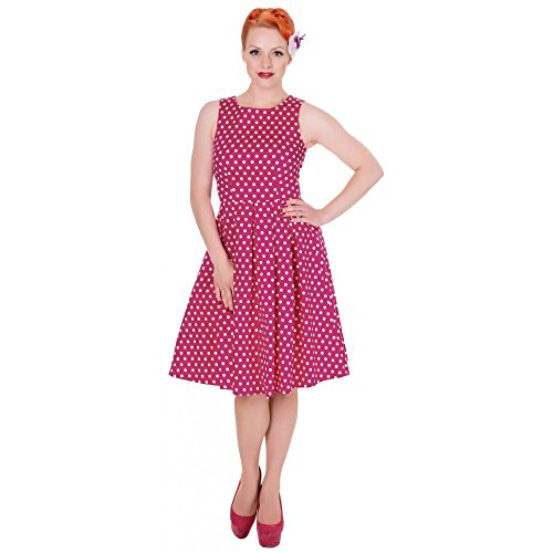 Dolly and Dotty -  Vestito  - Donna rosa scuro 36