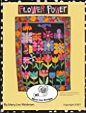 img - for FLOWER POWER Quilt Designs by Mary Lou Donahue Weidman book / textbook / text book