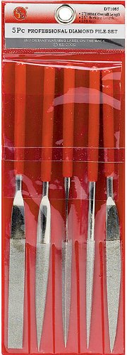 SE - File Set - Diamond, 180 Grit, 7in., 5 Pc
