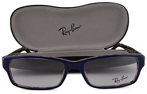 ray-ban-rx5169-eyeglasses-52-16-140-blue-tortoise-5219-rb5169