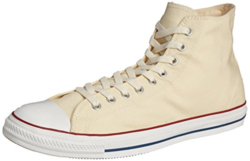 Converse Unisex Chuck Taylor All Star Hi Natural White Basketball Shoe 14 Men US