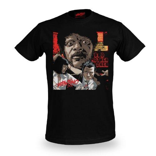 Pulp Fiction - Collage - Jules -T shirt girocollo - Tarantino XX - S
