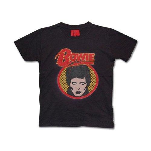 Tシャツ デビットボウイ DAVID BOWIE ロック バンド M チャコール