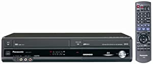 Panasonic DMR-EZ47V Up-Converting 1080p DVD-Recorder/VCR Combo with Built In Tuner