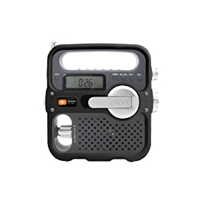 Etón FR360B Solarlink Self-Powered Digital AM/FM/NOAA Radio with <a href=