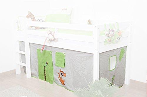 rideaux - set de tissu - Design: Jungle