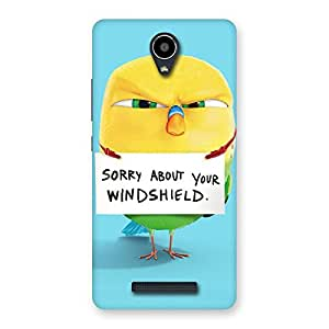Special Cute Sorry Print Back Case Cover for Redmi Note 2