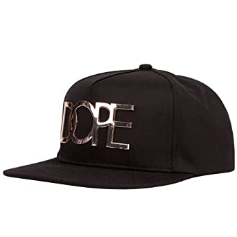 DOPE Gold Plate Mens Snapback Hat, Black at Amazon Men's Clothing