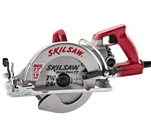 Skil SHD77 M-72 15 Amp 7-1/4-Inch Magnesium Mag 77 Wormdrive Circular Saw with Twist Lock