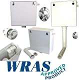 Dual Flush Back to Wall Cable Concealed Cistern Chr